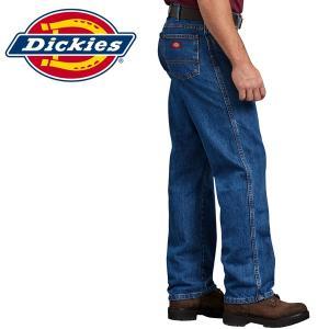 Dickies ディッキーズ正規品ワークパンツ レギュラーフィットジーンズ デニム インディゴ|californiastyle
