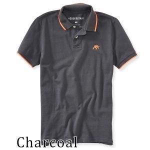 ポロシャツ メンズ 鹿の子 半袖 Aeropostale エアロポステール 正規品|californiastyle