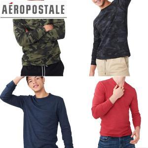 aeropostaleエアロポステール正規品メンズ長袖TEEシャツ サーマル ロングスリーブ|californiastyle