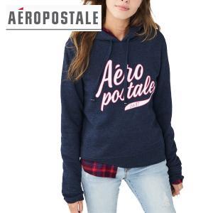 Aeropostale エアロポステール正規品レディースパーカー ロゴフーディ californiastyle