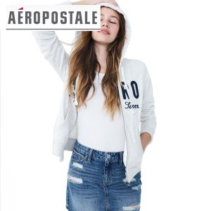 AERO エアロポステール正規品レディースパーカー ジップアップフーディ californiastyle