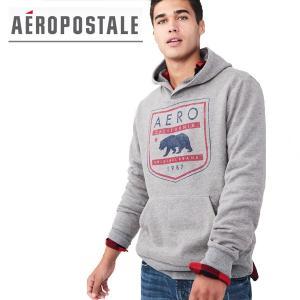 パーカー メンズ 長袖 Aeropostale エアロポステール 正規品 メンズパーカー フーディ プルオーバーパーカー|californiastyle