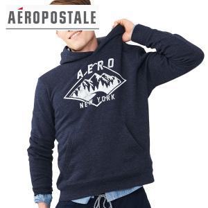 パーカー プルオーバー Aeropostale エアロポステール 正規品 メンズ ロゴプリント|californiastyle