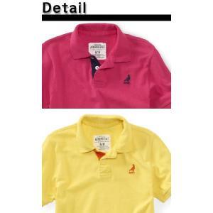 ポロシャツ AEROPOSTALE エアロポステール 半袖 刺繍入り 鹿の子ポロシャツ californiastyle 04