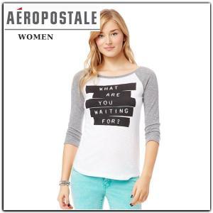 エアロポステールAEROPOSTALEレディース 長袖Tシャツ|californiastyle