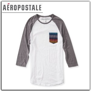 エアロポステールAEROPOSTALE ラグラン ロンTEE|californiastyle