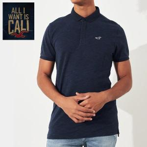 HOLLISTER ホリスター 正規品 メンズ Shrunken Collar Polo 半袖 ポロシャツ|californiastyle