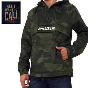 HOLLISTERホリスター正規品メンズナイロンジャケット アウター CAMO パーカー|californiastyle
