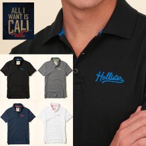 HOLLISTER ホリスター 半袖 ポロシャツ 正規品 メンズ|californiastyle