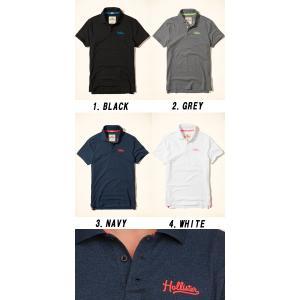 HOLLISTER ホリスター 半袖 ポロシャツ 正規品 メンズ|californiastyle|02