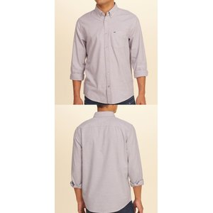 HOLLISTERホリスター正規品メンズ長袖シャツStretch Oxford Shirt|californiastyle|02