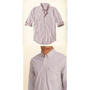 HOLLISTERホリスター正規品メンズ長袖シャツStretch Oxford Shirt|californiastyle|03