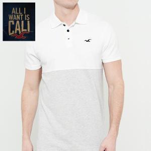 HOLLISTERホリスター正規品メンズ鹿の子 半袖ポロシャツ|californiastyle