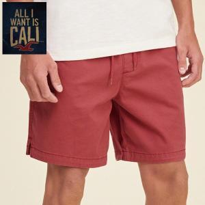 Hollister Beach Prep Fit Pull On Shorts  REDホリスター ハーフパンツ タンパン328-281-0700-575|californiastyle