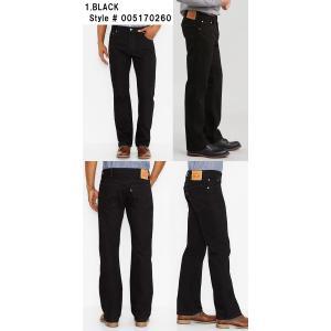 LEVISリーバイス正規品517 Boot Cut Jeansブーツカットデニムジーンズ ブラック リジット|californiastyle|02
