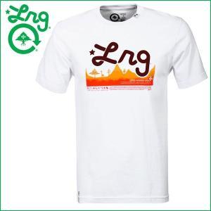 Tシャツ メンズ 半袖 LRG エルアールジー 正規品 白 ホワイト ブランドT|californiastyle