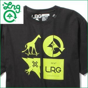 Tシャツ メンズ 半袖 ロゴT クルーネック LRG エルアールジー 正規品 カットソー|californiastyle
