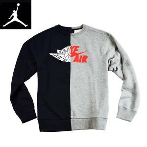 Nike Air Jordanナイキ正規品メンズ エアージョーダンジャンプマン LOOSE-FITトレーナー ドッキングスウェット|californiastyle