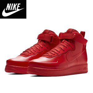 NIKEナイキ正規品スニーカー エアーフォースワンAir Force 1 Foamposite Cup University Red|californiastyle