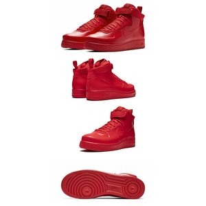 NIKEナイキ正規品スニーカー エアーフォースワンAir Force 1 Foamposite Cup University Red|californiastyle|03