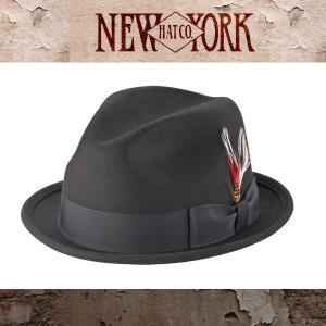 NEW YORK HAT ニューヨークハット 中折れハット 帽子  メンズ レ|californiastyle