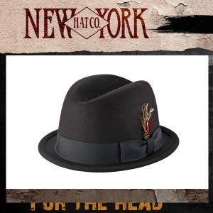 New York Hat ニューヨークハット中折れハット5241フェルトハット |californiastyle