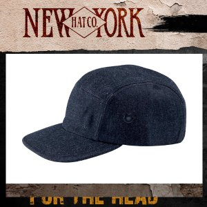 NEW YORK HATニューヨークハット デニムキャンプキャップ6026|californiastyle