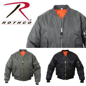 ROTHCO ロスコ MA-1 FLIGHT JACKET-100% NYLON アウターフライトジャケット MA1|californiastyle