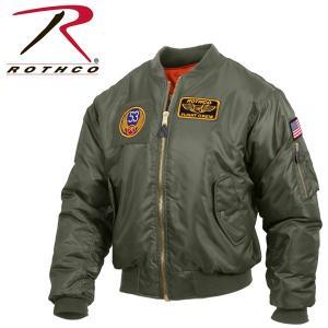 ミリタリー ma1 ロスコ ROTHCO正規品フライトジャケット アメリカ買い付けADAPT MA-1 MA1アウタートップガン|californiastyle