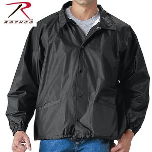 Rothcoロスコ正規品アメリカ軍物ミリタリージャケット コーチジャケット Coaches Jacket黒|californiastyle