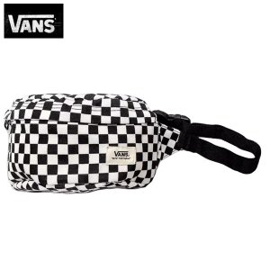 Vans ヴァンズ バンズ正規品バッグ ウエストバック ポーチUni-Pack FANNY PACK One Size (BLACK WHITE CHECKERED) californiastyle
