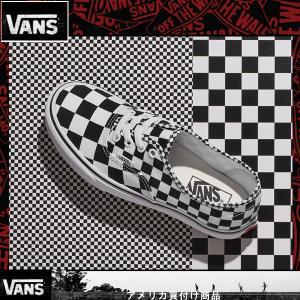 VANS ヴァンズ バンズ Mix Checker Authentic ミックスチェッカー オーセンティック スニーカー 黒白|californiastyle