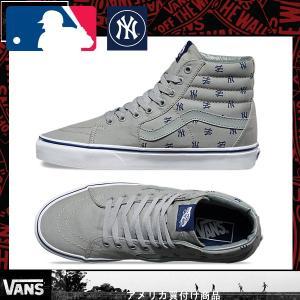 Vans バンズ ヴァンズ SK8 Hi MLB スケートハイNew York Yankees|californiastyle