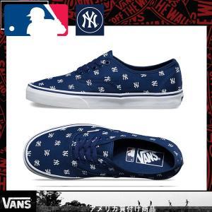 Vans バンズ ヴァンズ Authentic オーセンティック MLB New York Yankees|californiastyle