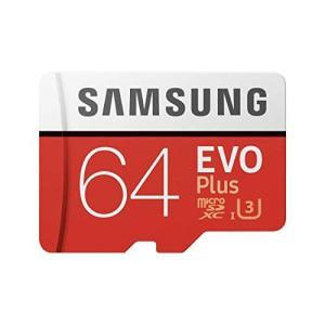 Samsung microSDXC カード 64GB EVO+ Class10 UHS-I U3対応...