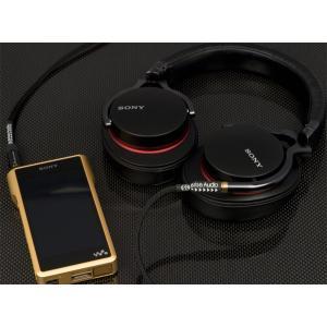 【Brise Audio製】STD001HP 3.5mm 4極x1 SONY MDR-1A専用 バランス接続2.5m