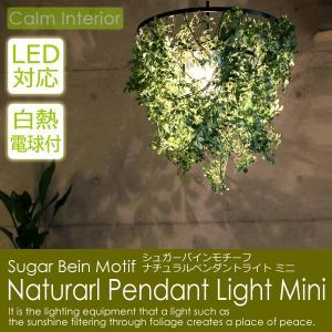 LED対応照明 ペンダントライト ミニ(白熱電球付属) シュガーバインモチーフ 北欧 おしゃれ ダイニング calm-interior