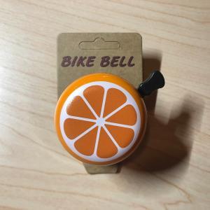 自転車用ベル オレンジ みかん かわいい|calm-runon