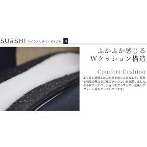 バレエ フラット 日本製(SUaSHI)まるで素足のようなバレエシューズ。 レインシューズ(FOO-AM-R1601)|calmlife2nd|17