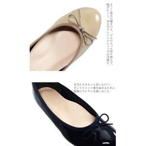 バレエ フラット 日本製(SUaSHI)まるで素足のようなバレエシューズ。 レインシューズ(FOO-AM-R1601)|calmlife2nd|06