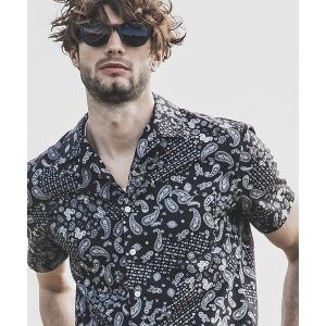 【felkod(フィルコッド)】Bandana Pattern Open Color Shirts オープンカラーシャツ(F19S110)|cambio