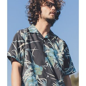 【ANGENEHM(アンゲネーム)】Comfortable Open Color Vintage Aloha Shirts(MADE IN JAPAN) シャツ(ANG9-003)|cambio