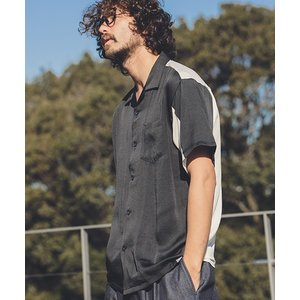 【ANGENEHM(アンゲネーム)】Vintage Like Switch Short Sleeve Shirts(MADE IN JAPAN) シャツ(ANG9-005)|cambio