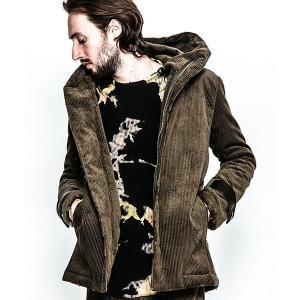 【ACANTHUS(アカンサス)】damage corduroywrap coat コート(JK1807)|cambio