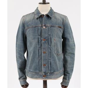 【Nudie Jeans(ヌーディージーンズ)】SONNY MID STONE デニムジャケット(160594)|cambio
