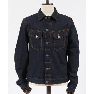 【Nudie Jeans(ヌーディージーンズ)】KENNY DRY ECRU EMBO ジャケット(160629)|cambio