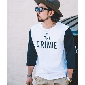 【CRIMIE(クライミー)】THE CRIMIE BASE BALL T-SHIRT -THE CRIMIEベースボールTシャツ(C1K1-TE10)|cambio