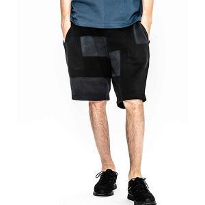 【ACANTHUS(アカンサス)】patchwork hand dyesweat shorts ショーツ(HJP1902S)|cambio