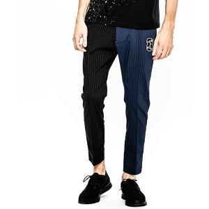 【ACANTHUS(アカンサス)】ACANTHUS×muta stretch nylon split stripe tight pants パンツ (MA1902SP)|cambio