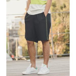 【ANGENEHM(アンゲネーム)】Side Piping Line Saruel Shorts(MADE IN JAPAN) パンツ(ANG9-022)|cambio
